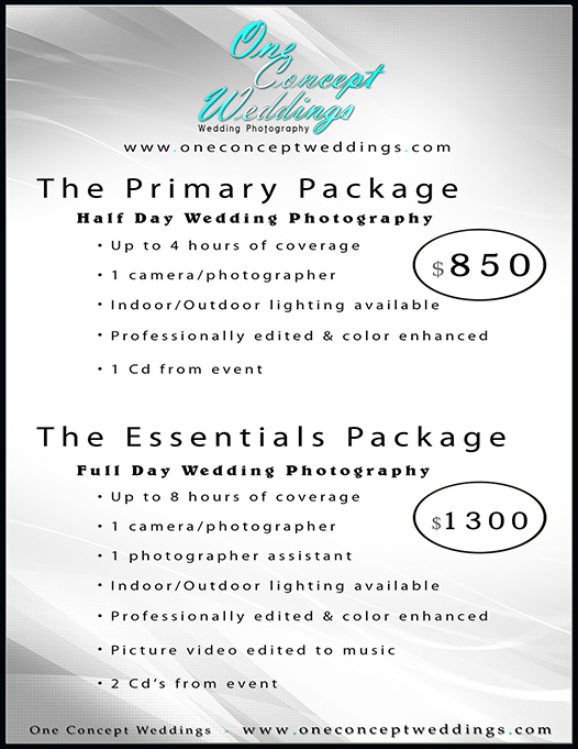 price guides wedding videography photography